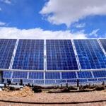 large scale solar panels